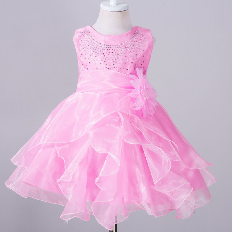Tienda Online 1 año niña bebé vestido de cumpleaños niña Vestidos ...