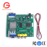 New Arcade Game RGB CGA EGA YUV To VGA HD Video Converter Board 1 VGA Output