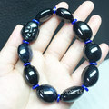 Natural sapphire bracelet hand bunch of men