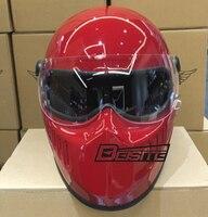 Токио стиль мотоцикл шлем Chopper стиль ретро мотоциклетный шлем Винтаж шлем Ghost Rider шлем