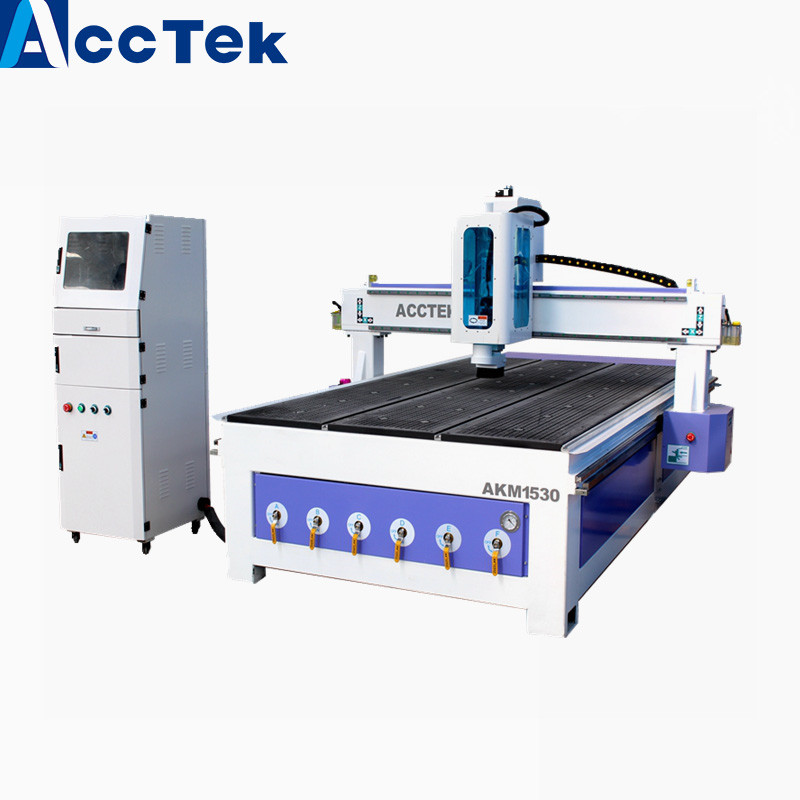 Customizable Machine Mach 3 Controller Artcam Software Cnc Wood Cutter 1325 1530 Cnc Router For Copper Aluminum
