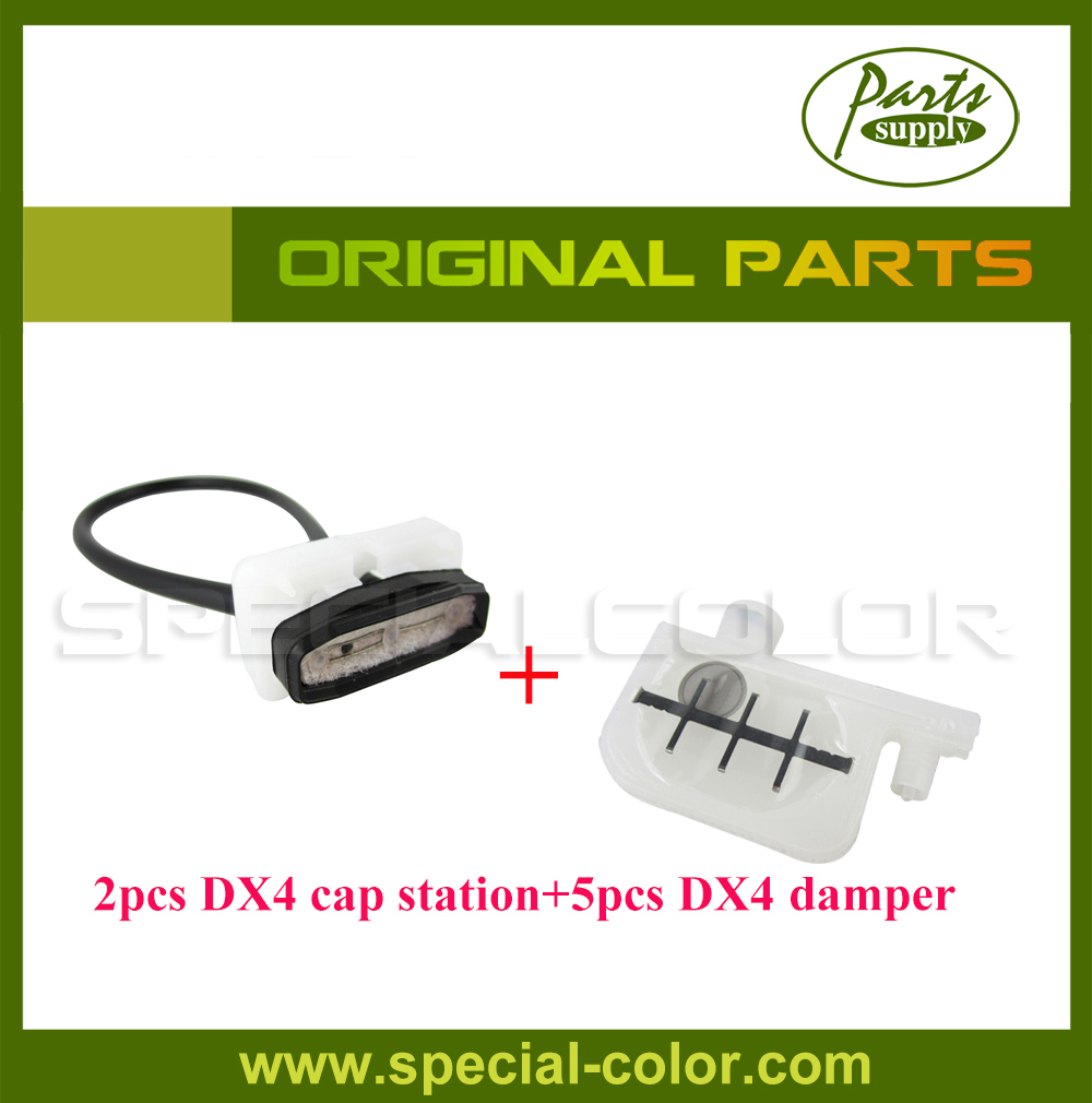 Original 5pcs Roland Small Damper for RS640/XJ740/XC540 + 2pcs DX4 Cap Station roland xf 640 wiper holder 1000010211