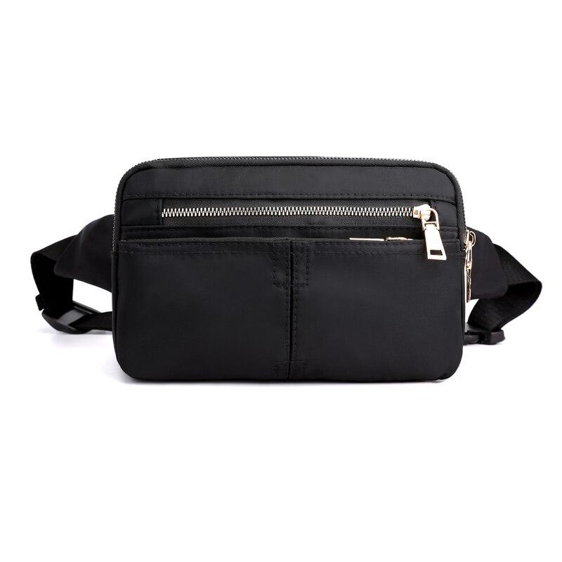 Fashion Men/'s Waterproof Waist Pocket Belt Phone Coin Purse Belt Business Bag