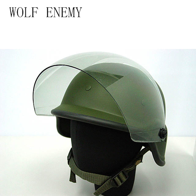 8c27db07 Airsoft M88 PASGT Kelver Swat Tactical Helmet With Clear Visor Men Cycling  Outdoor Sports Skate Hunting Helmet Casco Ciclismo
