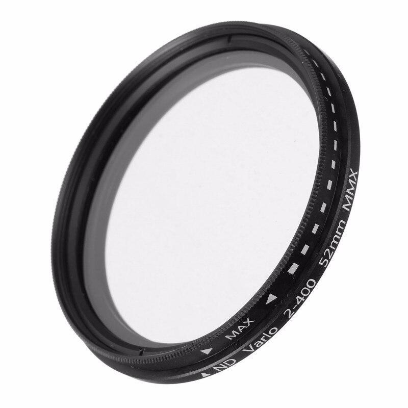 ND Filter Fader Neutral Density Einstellbare ND2 zu ND400 Variable Filter 52mm 58mm 62mm 67mm 77mm für Nikon für Canon Kamera SLR
