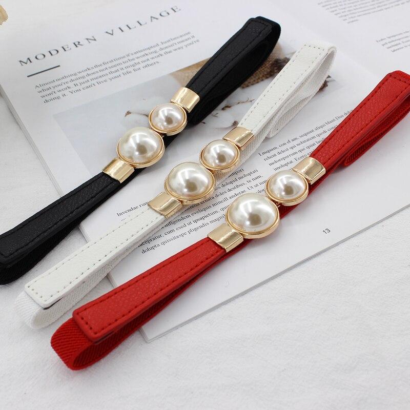 2019New Types 1.5cm  Width And 65cm Long Waist Belt Dress Adornment For Women Waistband Cummerbunds