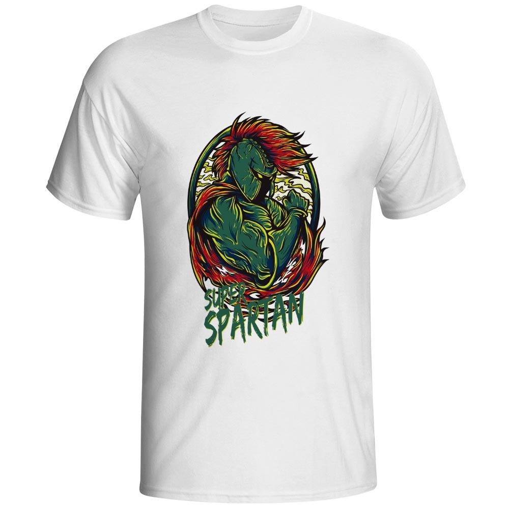 Super Hero Of Sparta T Shirt Cool Funny Creative T Shirt Design Pop