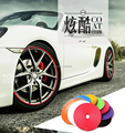 New car styling 8 meters Car Wheel Hub Tire Sticker Car Decorative Styling Strip Wheel/Rim/Tire Protection Care Covers