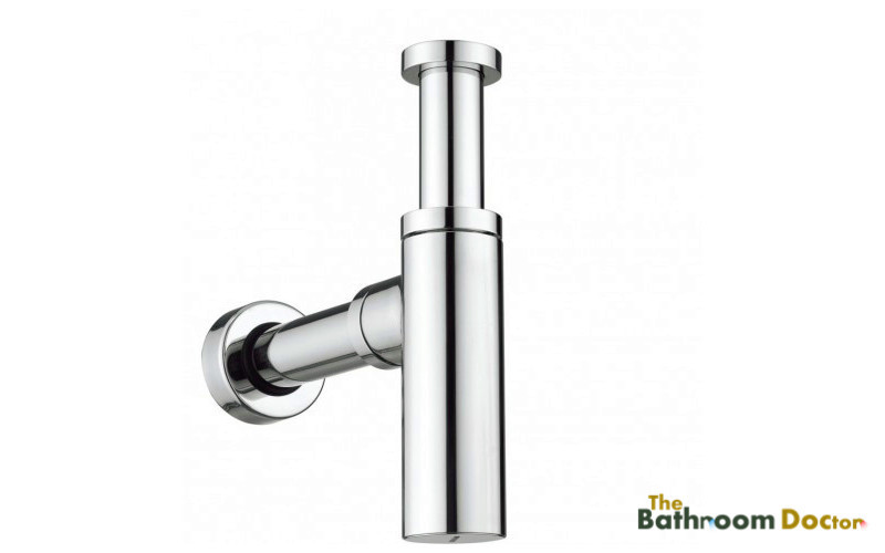 купить Bathroom Basin Sink Tap Round Bottle Waste Trap Drain Kit Chrome P-TRAP Pipe 11-088-3a по цене 1585.02 рублей