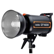 Godox 1800W 3X 600W High Speed Flash Light Studio Strobe lighting & Softbox & Light Stand Professional Photography Kit CD15(China)