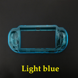 Image 5 - JCD 5pcs Protective Clear Crystal Hard Carry Guard Case Cover Skin for Sony Psvita PS Vita PSV 1000 Crystal Full Body Protector