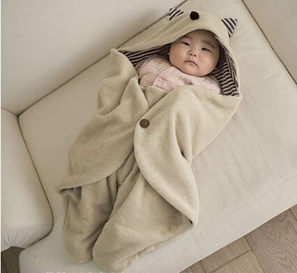 Одеяла пеленание хлопок детское одеяло с капюшоном новорожденных конверт детское постельное белье 90*78 см банное полотенце