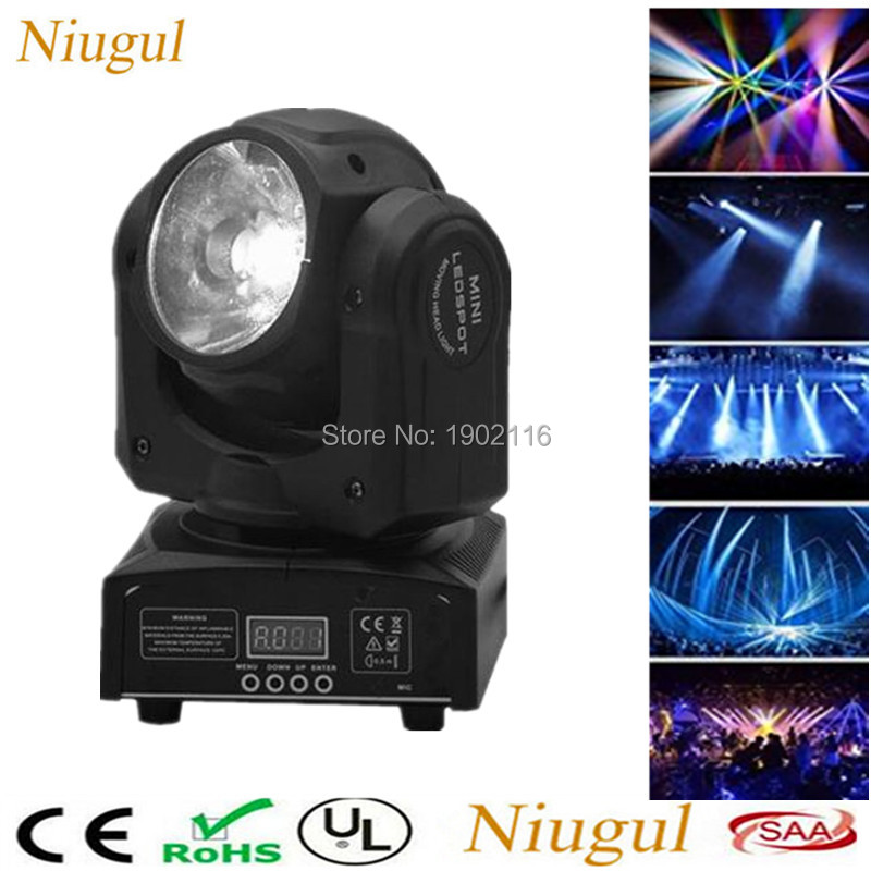 Niugul Super Beam LED Moving Head Light Beam 60W LED Lamp DMX512 LED Beam Wash Effect Stage Lights DJ Spot Lighting Party Lamp