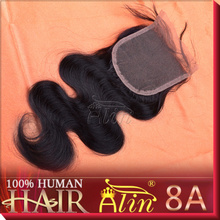 Brazilian virgin hair 1Piece middle part Lace Top Closure human remy Hair body Wave 1pcs diola natural rosa mocha products