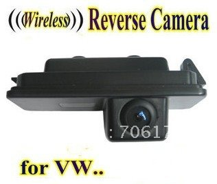 WIRELESS Special Car Rear View camera Reverse rearview Camera backup for VW PHAETON/SCIROCCO/GOLF 4 5 6 MK4 MK5/EOS/LUPO/BEETLE car for porsche smd3528 number led license plate lights for vw golf gti 5 6 passat scirocco phaeton new beetle cc c 5