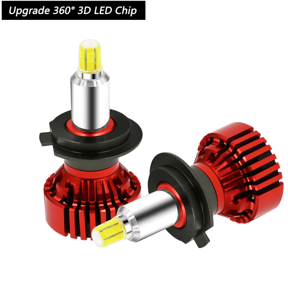 New Canbus Auto Lamps 9012 HIR2 <font><b>Led</b></font> Bulb Kit 110W 12V Turbo Fan H7 <font><b>Led</b></font> Headlight For Auto Car 9005 3D <font><b>Cree</b></font> Chip <font><b>Led</b></font> 9005 <font><b>HB4</b></font> H11 image
