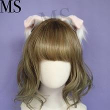 hair accessories Animal Cat Ear Hair Hoop New Foldable headwear for girl women high quality hand work