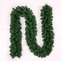 Hot Sale Christmas Green Cane Vine Decorations Christmas Tree Hanging Decorations 2 7m PVC Thick Cane
