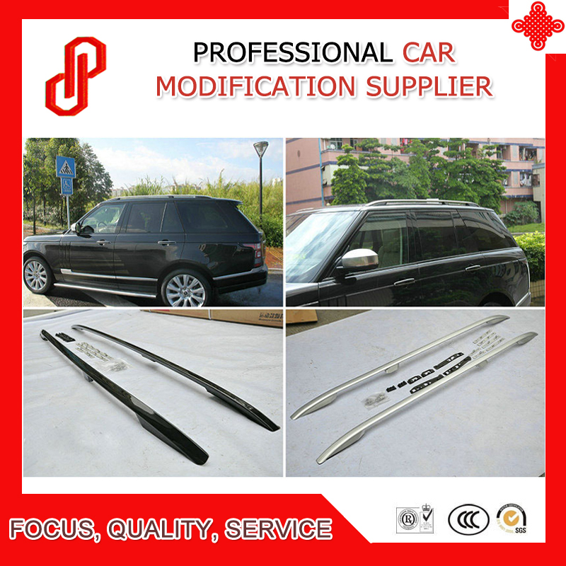 High quality Aluminium Alloy screw install side rail bar roof rack for Range rover Vogue 2013 2014 2015 2016 2017 in Roof Racks Boxes from Automobiles Motorcycles