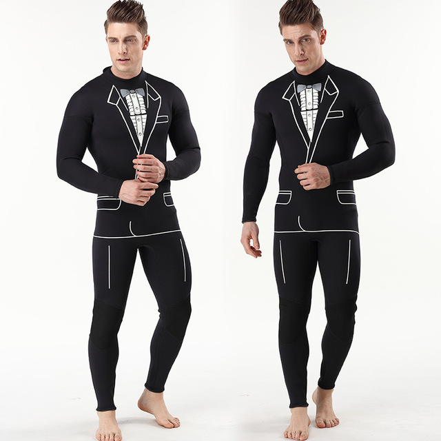 Full Body One-Piece 3mm Neoprene Diving Suit Quality Warm Swimming Clothes Men Women Scuba Diving Wetsuit Surfing Suits