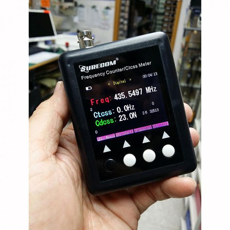 409SHOP FACTORY  SF401plus  SF-401 plus 27Mhz-3000Mhz  SF401PLUS for walkie talkie  Frequency Counter meter409SHOP FACTORY  SF401plus  SF-401 plus 27Mhz-3000Mhz  SF401PLUS for walkie talkie  Frequency Counter meter