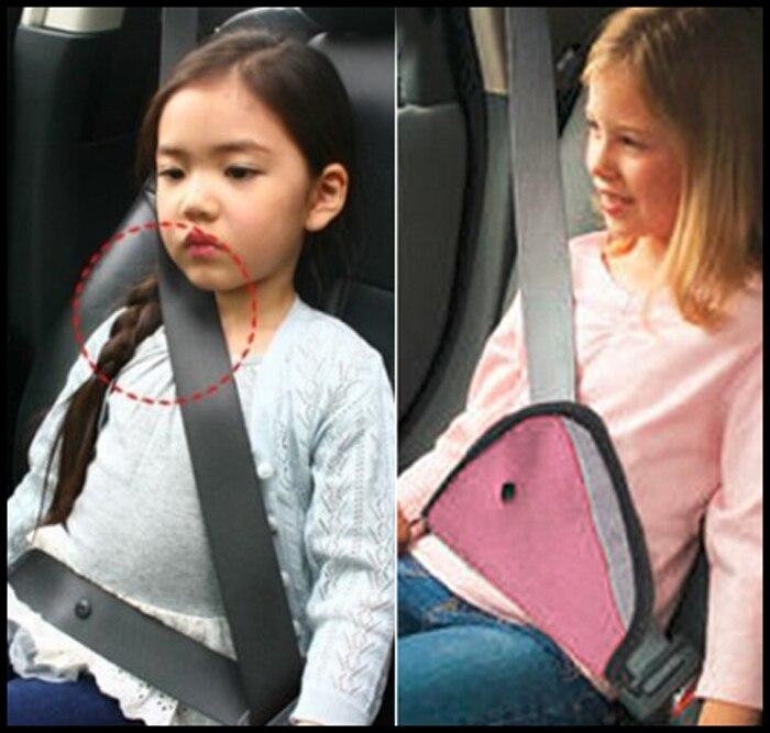 2016 Baby Pink Треугольники Дети Авто Детская безопасность Собака Ремни безопасности ремней