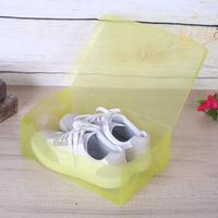 10 pcs Boîte à Chaussures Chaussures Organisateur Pliable Épaissir Transparent Chaussures En Plastique Boîtes De Rangement Des Conteneurs