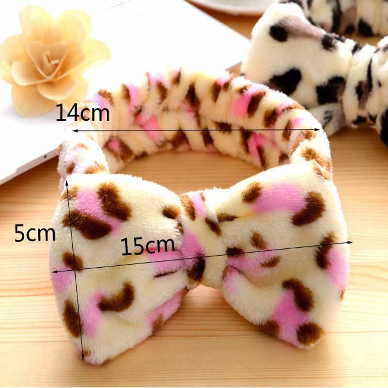 ... Factory Price Hot New Pink Hair Ribbon Spa Bath Shower Make Up Wash  Face Cosmetic Headband ... b8de62b8b43