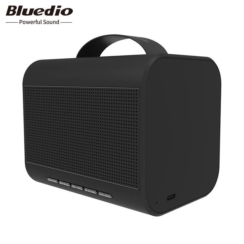 Mini haut-parleur Bluetooth Portable Bluedio T-Share2.0 sans fil 6W système de son haut-parleur avec commande vocale de soutien de microphone