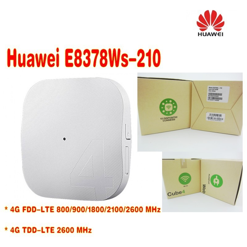 Unlocked Huawei E8378 E8378Ws-210 Web Cube 150Mbps WiFi Modem 4G LTE Wireless Router