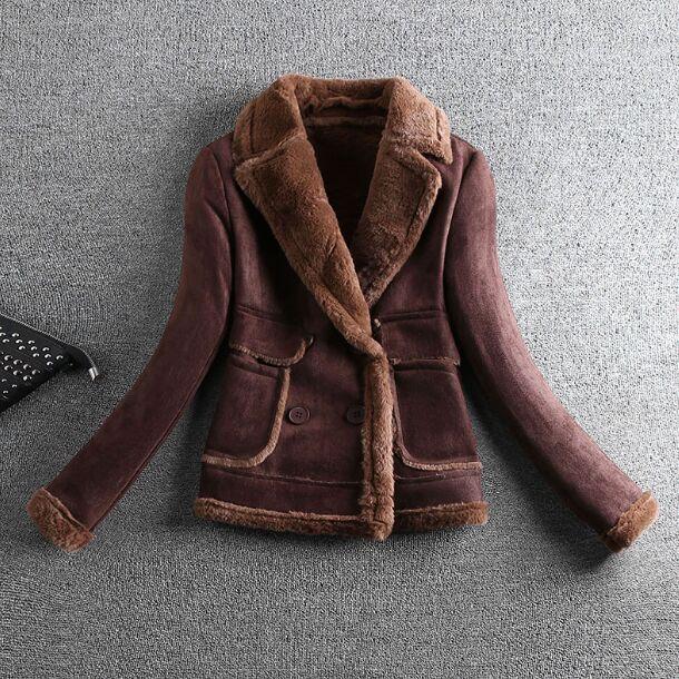 2018 Real Faux Vest Coat New Women Winter Jacket Luxury Fox Hooded Motorcycle Pu Leather Jackets Outerwear Slim Streetwear Coat