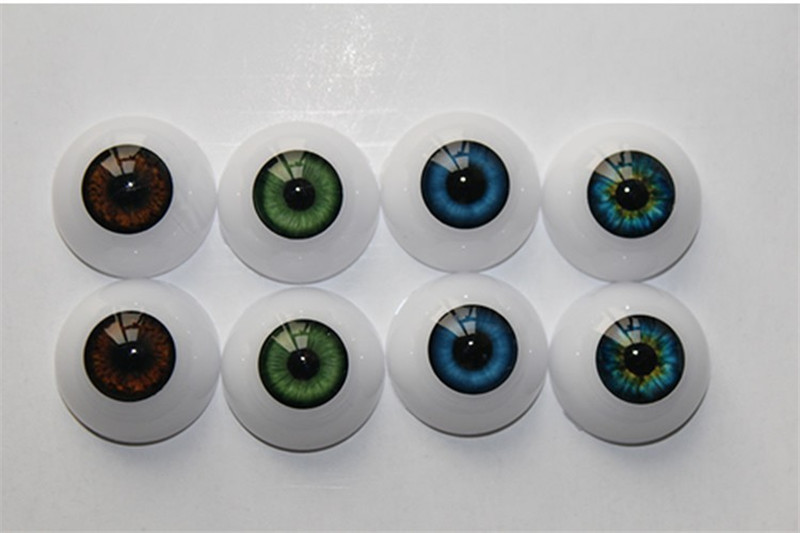New Arrival 24/22/20mm Reborn Doll / Bjd Doll Eyeball With Different Colours Most Hot Sell Reborn Dolls Accessories For Kids DIY