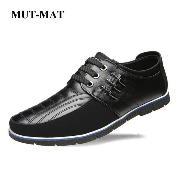 2019 nuevos zapatos casuales para hombre, zapatos de cuero de alta calidad, zapatos para hombres, decoración de balas, talla grande 37- 47 zapatos para hombre