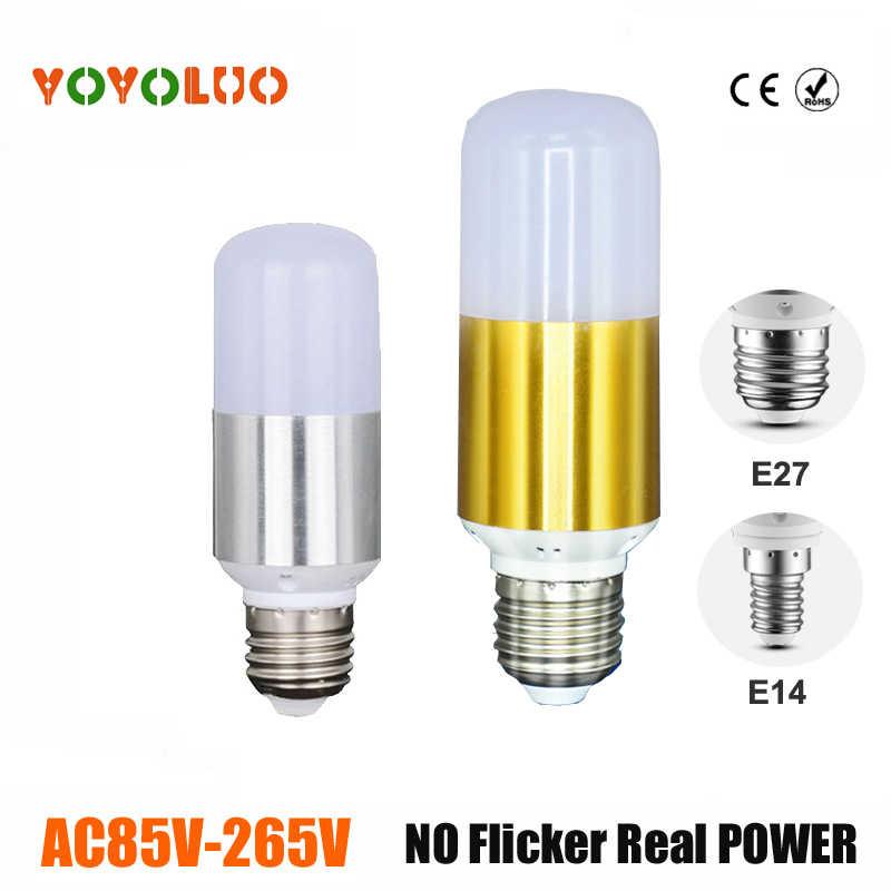 Новые светодиодные лампы 220 В 110 В светодиодные лампы E14 E27 постоянного тока светодиодные лампы 5 Вт 7 вт 9 Вт свеча настольная лампа люстры
