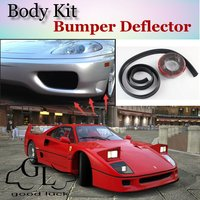 Bumper Lip Deflector Lips For Ferrari F40 Front Spoiler Skirt For TopGear Fans Car Tuning View / Body Kit / Strip