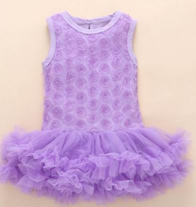 a353097e1956 Dropwow New Born Baby Girls Infant Dress clothes Summer Kids Party ...