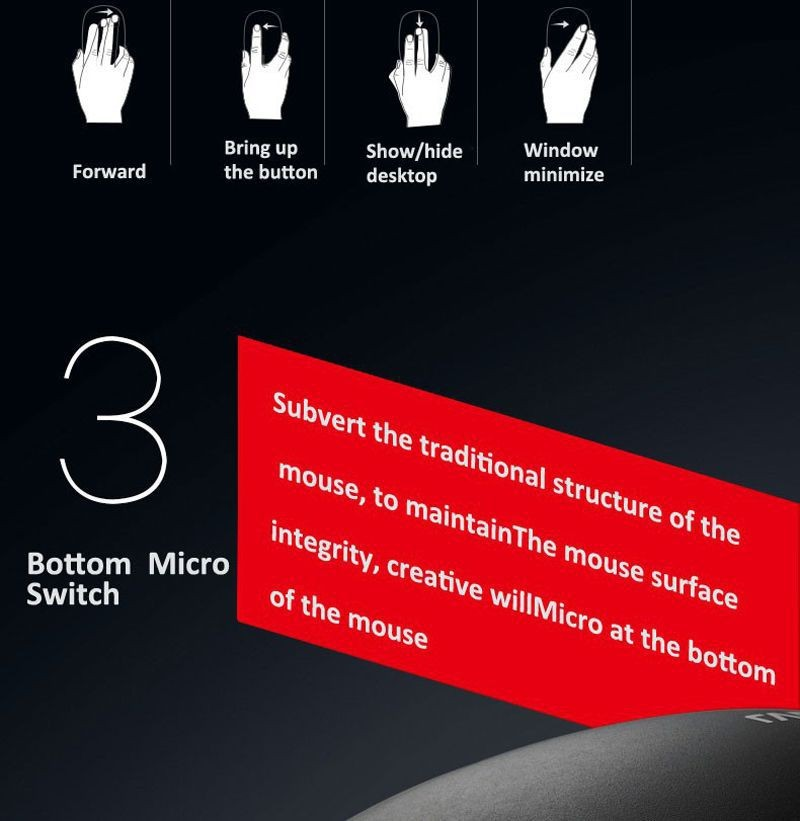 Rapoo touch mouse (6)