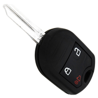 3 Buttons Replacements Remote Auto Key Fob Keyless Transmitter For Ford Edge With Battery And Chip