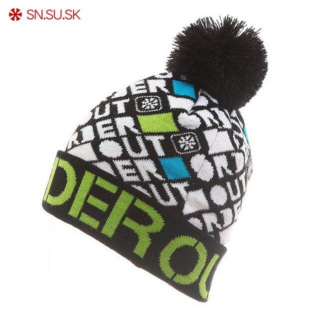 SN ¿SU  SK 2019 tejido de algodón de invierno marca Gorros Hip Hop ... c9601ce88a1