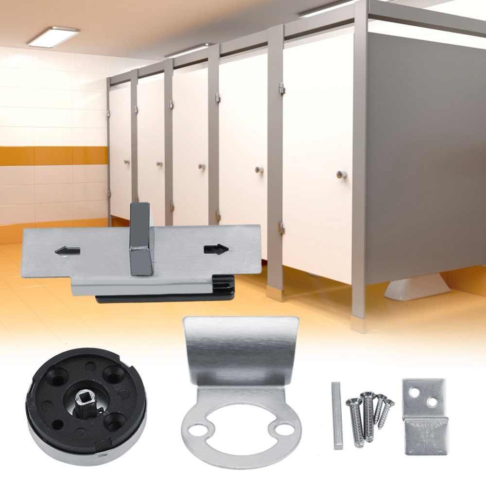 ตัวบ่งชี้ประตูล็อคห้องน้ำ WC ห้องน้ำความเป็นส่วนตัว Bolt ประตูล็อคสำหรับ Home Public อัพเดตตัวบ่งชี้ประตูล็อคสำหรับห้องน้ำ