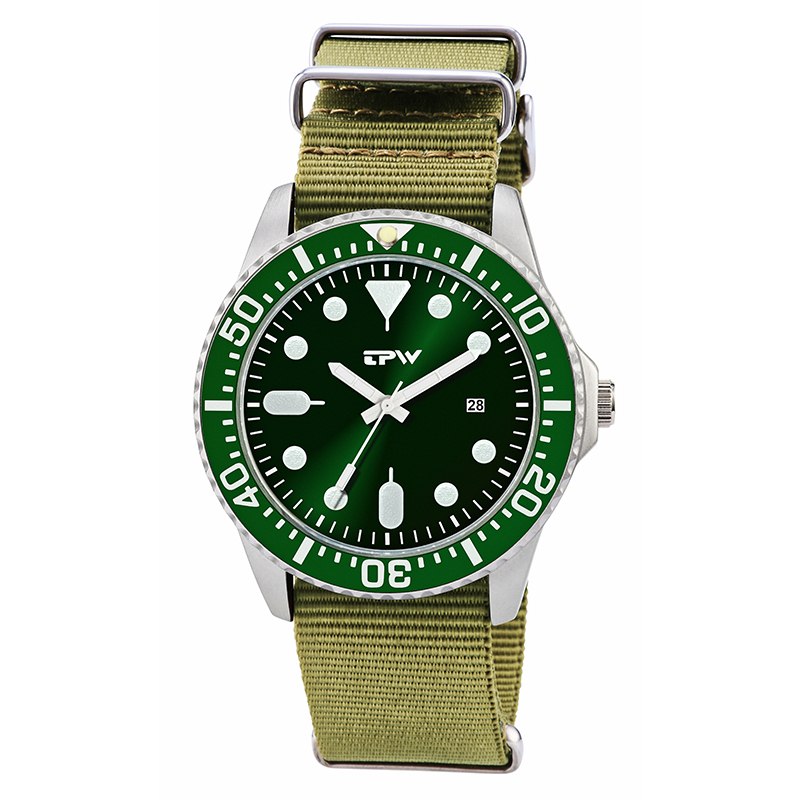 military mens watch nylon bane changeable strap rototary bezel steel case green color dial mens watches unique design watchesmilitary mens watch nylon bane changeable strap rototary bezel steel case green color dial mens watches unique design watches