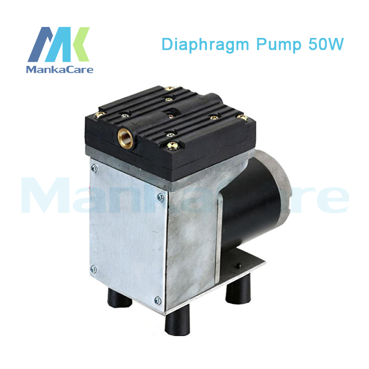 Manka Care - 24V /12V (DC) 33L/MIN 50 W medical diaphragm vacuum pump /Silent Pumps/Oil Less/Oil Free/Compressing Pump manka care 110v 220v ac 50l min 165w small electric piston vacuum pump silent pumps oil less oil free compressing pump