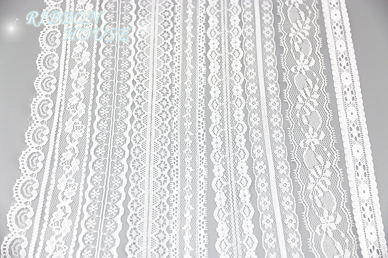HTB184JbXULrK1Rjy0Fjq6zYXFXaY (5 yards/roll) white lace fabric Webbing Decoration packing Material roll wholesale