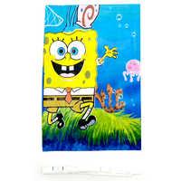 108*180 CM Spongebob Thema Tischdecke Dekoration Mädchen Kinder Favors Tisch Abdeckung Glückliches Baby Dusche Veranstaltungen Party Karten 1 teile/los