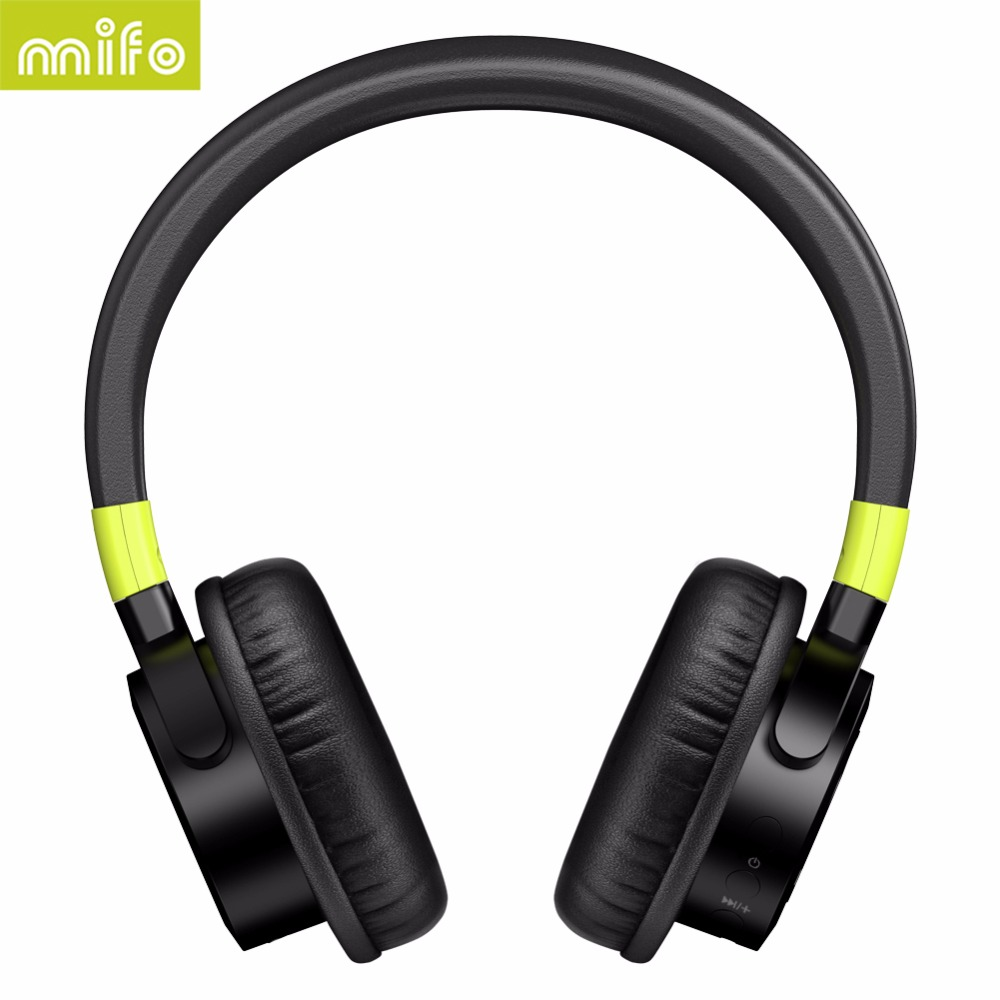 Original MIFO F2 Wireless Bluetooth Headphone Stereo HiFi Music Headset BT4.1 Version Sports Over-Ear Headphone Built-in Mic bluedio h bluetooth headphone stereo wireless earphones built in mic micro sd fm radio over ear noise canceling hifi headset