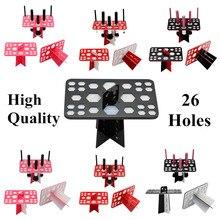 26 Lubang Make up Brush Set Dry Rack Drying Brushes Shelf Multifungsi Stand Display Kosmetik Clean Tool Wash Brush Holder