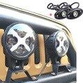 """Пара 6 дюймов 60 Вт Светодиодные Противотуманные фары С Углом Глаза прожектор Фары Для Jeep 4x4 4WD Offroad с Парой 9 Вт 2 """"LED Прокат света"""