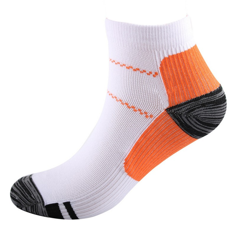 1 Pair High Quality Foot Compression Sports Socks For Plantar Fasciitis Heel Spurs Arch Pain Comfortable Socks Venous New Socks