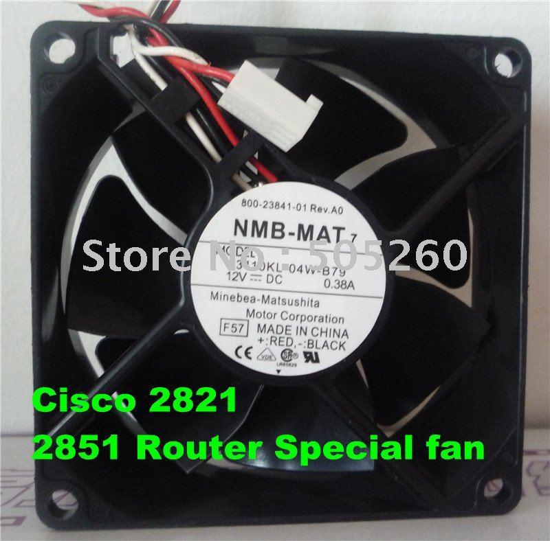 Купить с кэшбэком Free shiping NMB 8CM 3110KL-04W-B79 8025 12V 0.38A 2821 3825 cooling fan (used)