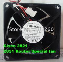 8CM 3110KL-04W-B79 8025 12V 0.38A 2821 3825 cooling fan (used) цена